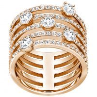 femme Swarovski Jewellery CREATIVITY RING SIZE P/Q Watch 5221421