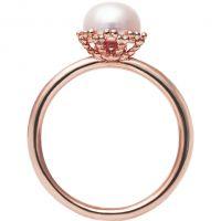 Ladies Jersey Pearl Sterling Silver Emma-Kate Freshwater Pearl Ring Size N EKR-RG-N