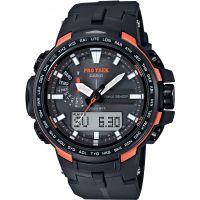 Mens Casio Pro Trek Alarm Chronograph Watch