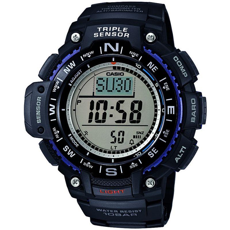 Herren Casio SPORTS GEAR Alarm Chronograph Watch SGW-1000-1AER