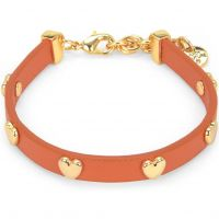 Gioielli da Donna Juicy Couture Jewellery Layered In Couture Heart Leather Bracelet WJW734-821