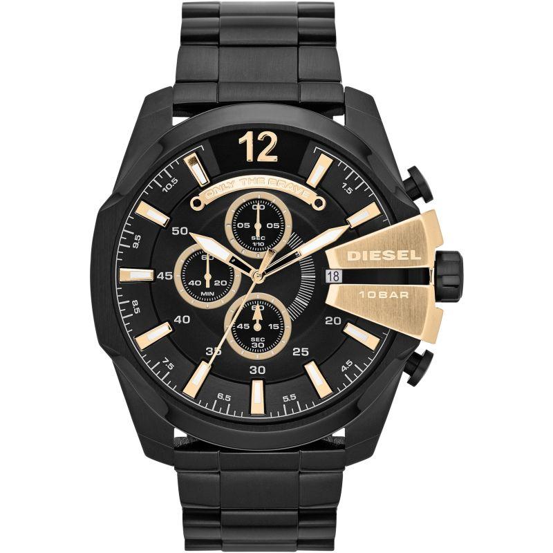 Herren Diesel Mega Chief Chronograph Watch DZ4338