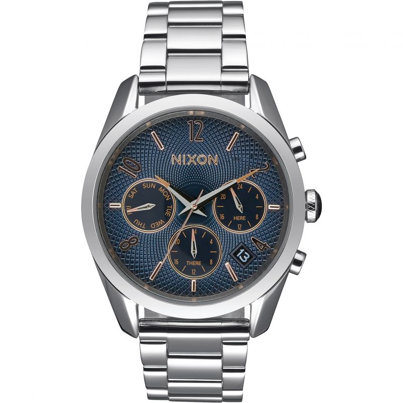 Ladies Nixon The Bullet Chrono 36 Chronograph Watch A949-2195