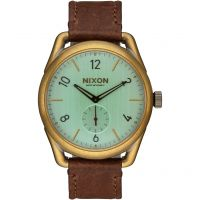 Herren Nixon The C39 Leder Uhr