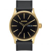 homme Nixon The Sentry Leather Watch A105-513