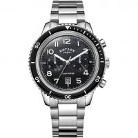 Mens Rotary Ocean Avenger Chronograph Watch