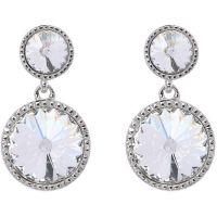 Ted Baker Dames RONDA RIVOLI CRYSTAL EARRING Roestvrijstaal TBJ1162-01-02