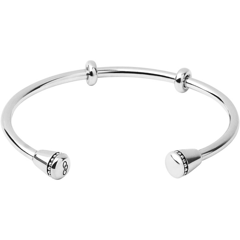 Ladies Links Of London Sterling Silver Charm Cuff Bracelet 5010.3344