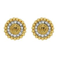 Juicy Couture Dam Jet Set Stud Earrings PVD guldpläterad WJW787-710