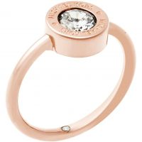 Damen Michael Kors PVD Rosa plating Ring Größe P