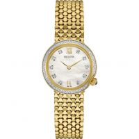 femme Bulova Diamond Gallery Watch 98W218