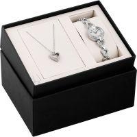 Damen Bulova Halskette Geschenk-Set Uhr
