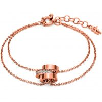 Damen Folli Follie PVD Rosa plating Touch Armband
