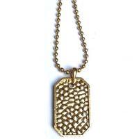 Icon Brand Base metal Premium Nero Necklace P1053-N-BRA