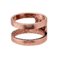 Biżuteria uniwersalne Icon Brand Jewellery Divided Ring P1063-R-COP-MED