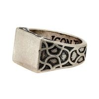 Biżuteria uniwersalne Icon Brand Jewellery Centre Stage Ring P1069-R-SIL-MED