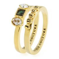 Juicy Couture Jewellery Semi-Precious Juicy Ring Set JEWEL