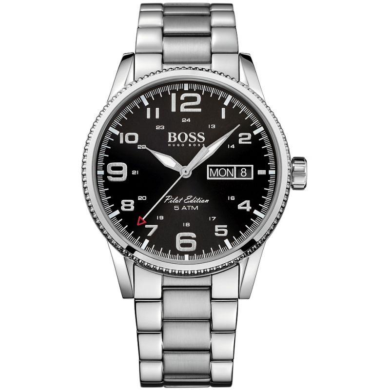 Herren Hugo Boss Pilot Vintage Watch 1513327