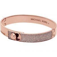 Ladies Michael Kors PVD rose plating Chains And Elements Bangle