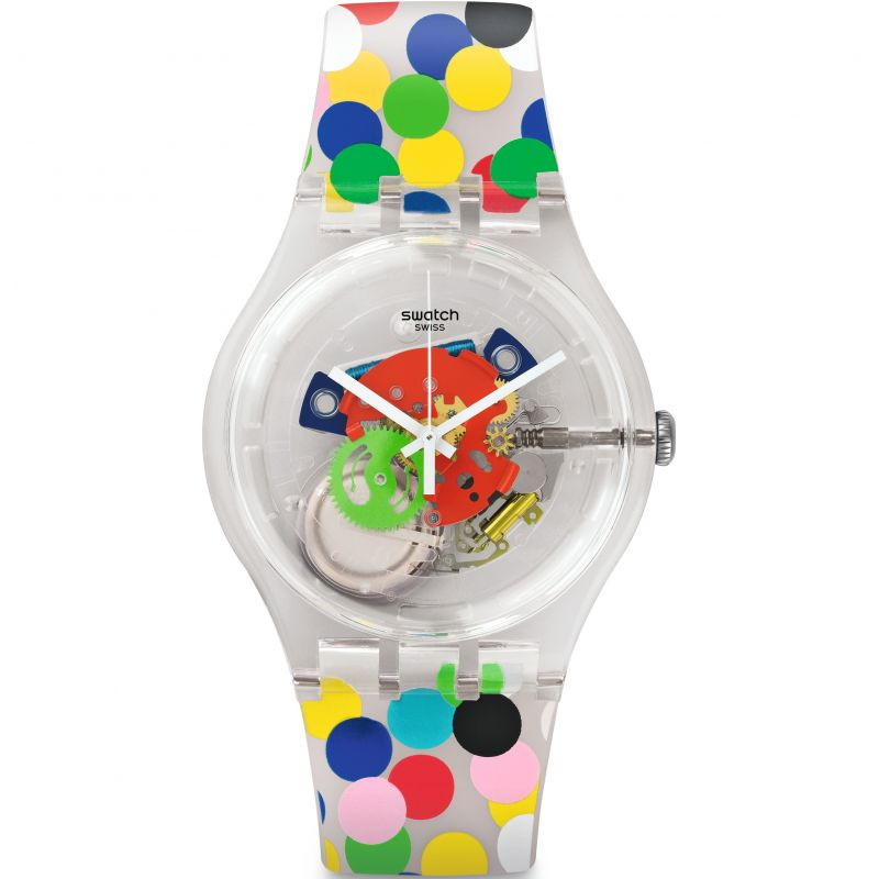 Unisex Swatch New Gent -Spot The Dot Watch SUOZ213