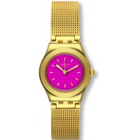 Damen Swatch Irony Big -Twin Pink Watch YSG142M
