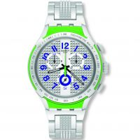 Unisex Swatch eisern X-leicht -Electric Ride Chronograf Uhr