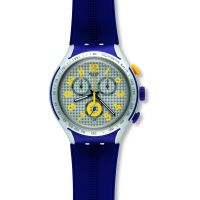 unisexe Swatch Irony X-Lite -Yellow Pusher Chronograph Watch YYS4014