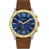 Herren Caravelle New York Chronograph Watch 45A135