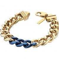 Herren Police PVD Gold überzogen Bichrome Armband
