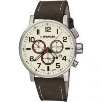 Herren Wenger Attitude Chrono Chronograph Watch 010343103