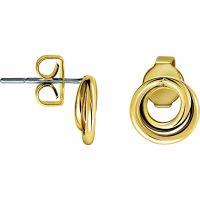Damen Calvin Klein vergoldet Weiter Ohrringe