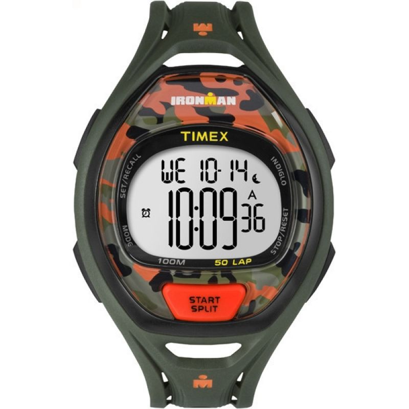 Herren Timex Indiglo Ironman Alarm Chronograph Watch TW5M01200