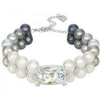 Ladies Swarovski Stainless Steel EAST BRACELET