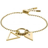 Ladies STORM PVD Gold plated Rohaise Bracelet