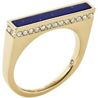 Ladies Michael Kors PVD Gold plated Ring Size O MKJ4263710506