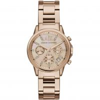 Damen Armani Exchange Chronograf Uhr