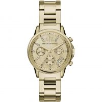 Ladies Armani Exchange Chronograph Watch