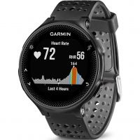 Unisex Garmin Forerunner 235 HR GPS Bluetooth Alarm Chronograph Watch 010-03717-55