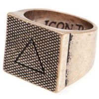 Icon Brand Base metal Lovell Ring Size Large