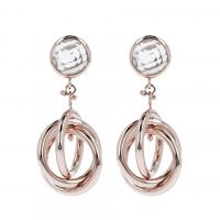 femme Bronzallure Crystal Quartz Earrings Watch WSBZ00080.C