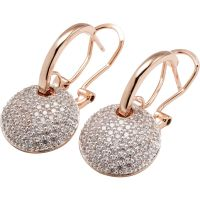 Damen Bronzallure 18ct vergoldet Bronze Ohrringe