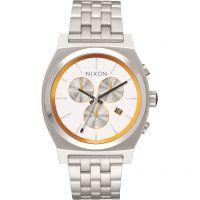 unisexe Nixon The Time Teller Chrono SW BB-8 White / Watch A972SW-2606