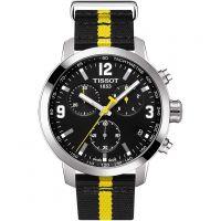 Herren Tissot PRC200 Tour De France Special Edition Chronograf Uhr