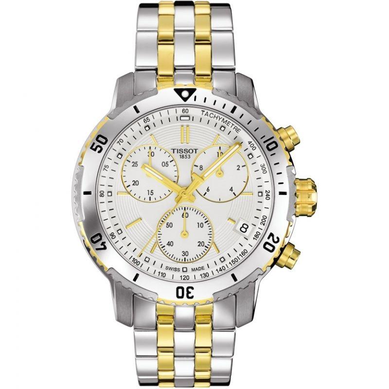 Herren Tissot PRS200 Chronograph Watch T0674172203101