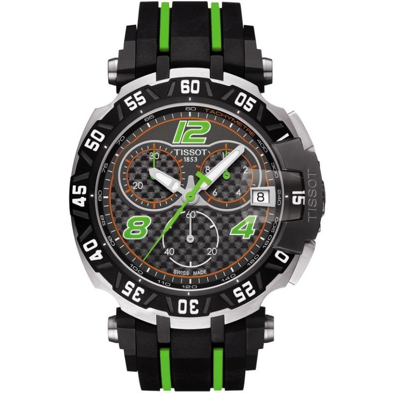 Mens Tissot T-Race Bradley Smith Limited Edition Chronograph Watch T0924172720702