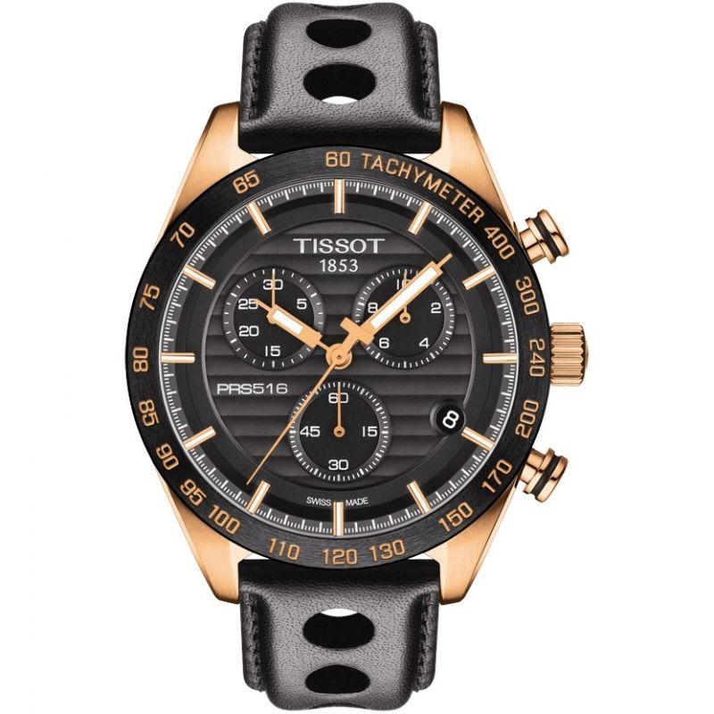 Herren Tissot PRS516 Chronograph Watch T1004173605100