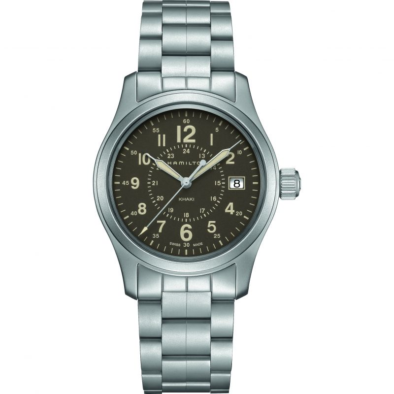 Mens Hamilton Khaki Field 38mm Watch H68201193