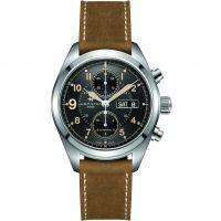 Herren Hamilton Khaki Field 42mm Automatik Chronograf Uhr