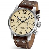 Herren TW Steel Maverick Chronograph 45mm Watch TWMS23