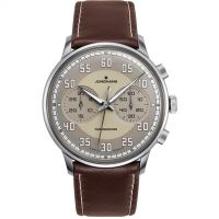 Herren Junghans Meister Driver Chronoscope Chronograph Watch 027/3684.00